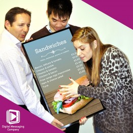 Digital Messaging Company Team - Ian, Teen & Aimee