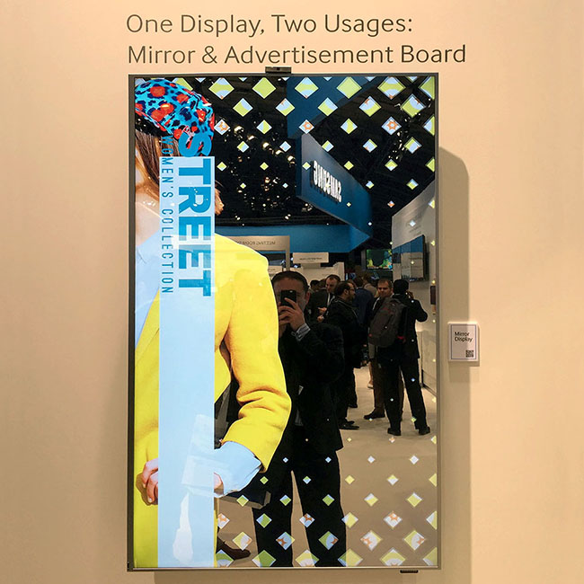 Technology – Innovations - Mirror Display