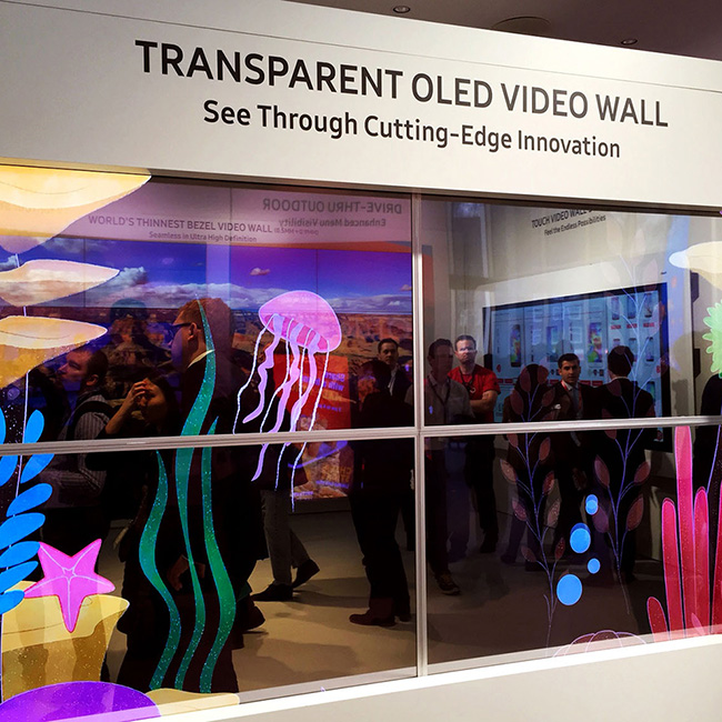 Technology – Innovations - Transparent Display