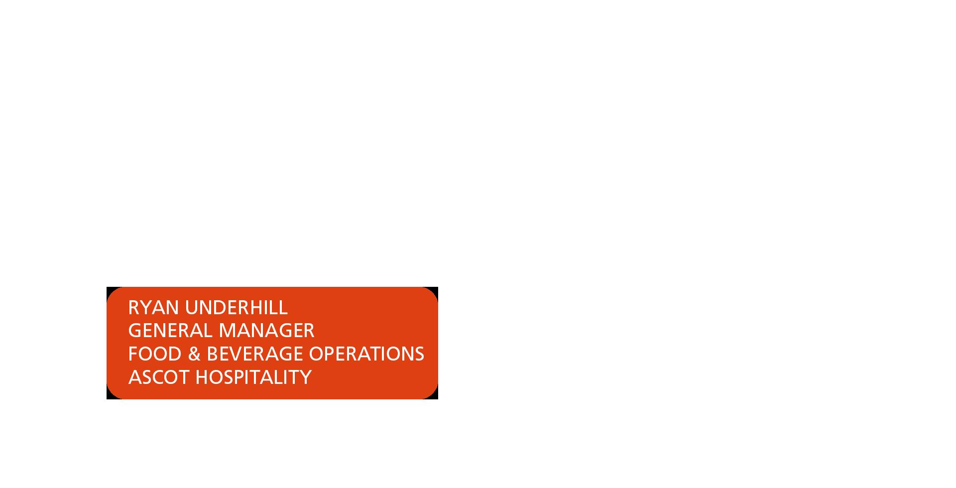 Orange box with text saying